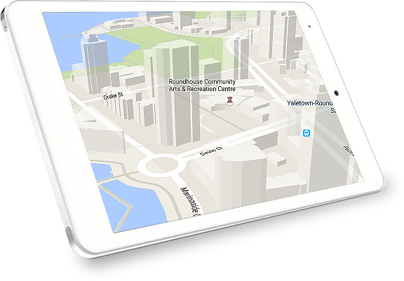 View your maps in 3D